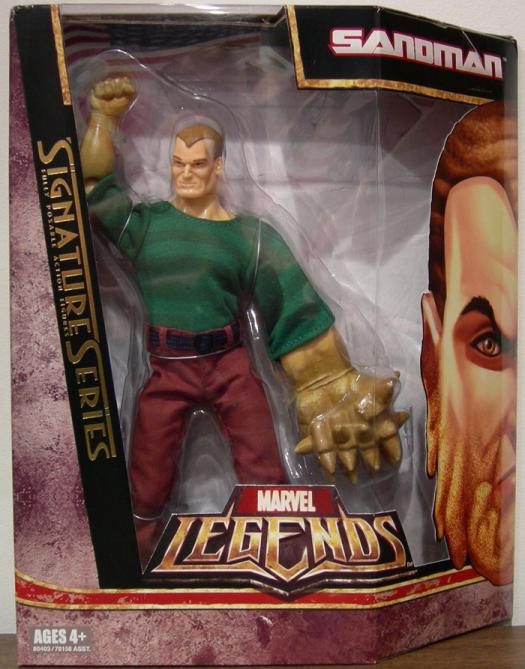 8 inch Sandman, Marvel Legends Signature Series