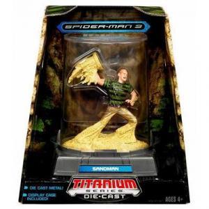 Sandman Titanium Series Die-Cast Spider-Man 3