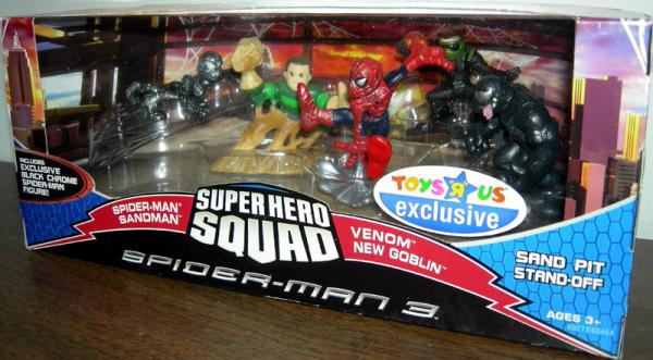 Sand Pit Stand-Off 5-Pack Super Hero Squad