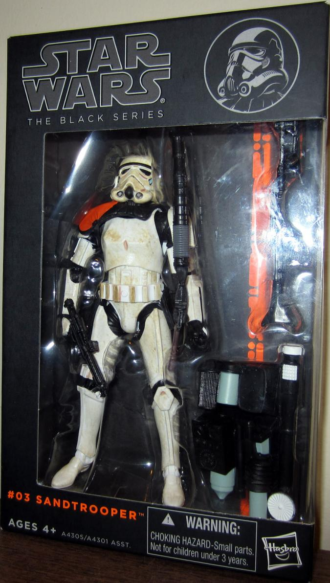 Sandtrooper Figure Black Series 03 Star Wars Hasbro