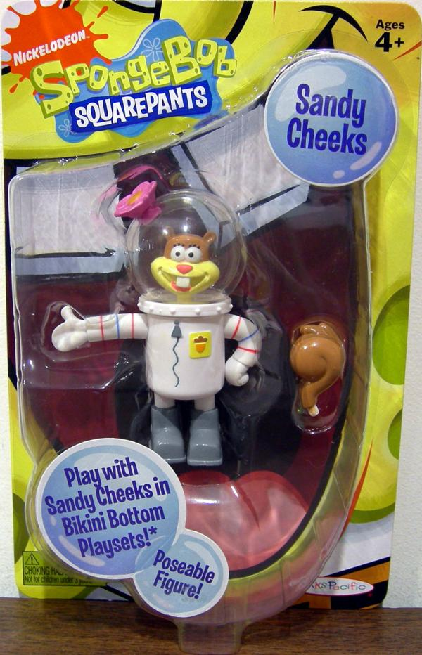 Sandy Cheeks 2009 SpongeBob Squarepants action figure