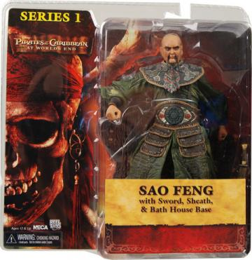 Sao Feng Worlds End Pirates Caribbean action figure