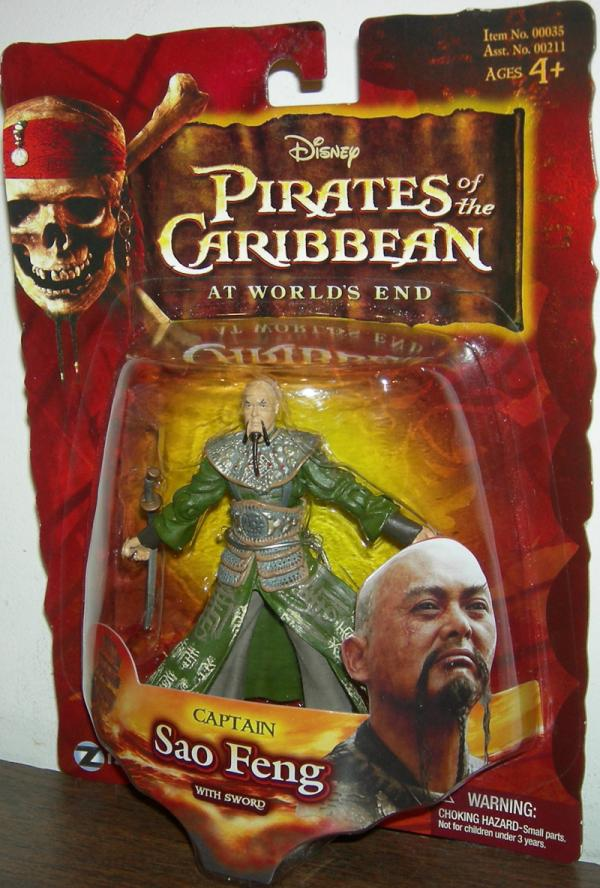 Captain Sao Feng Figure Sword Worlds End Pirates Caribbean