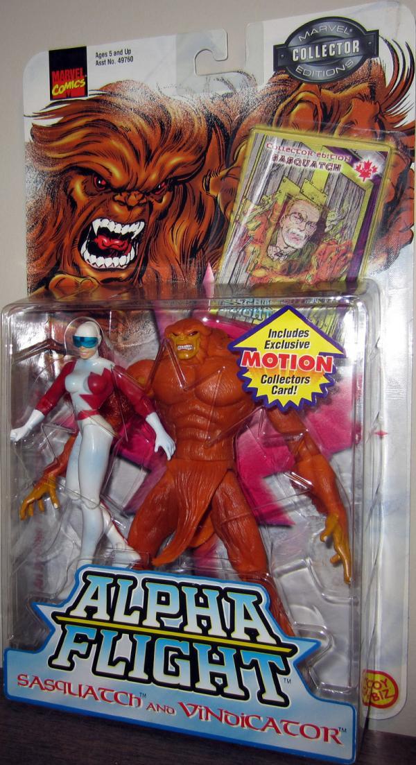Sasquatch Vindicator Marvel Alpha Flight action figures