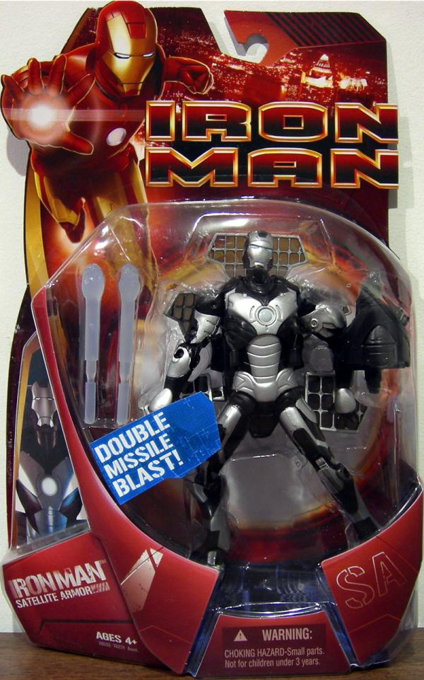 Satellite Armor Iron Man movie, silver