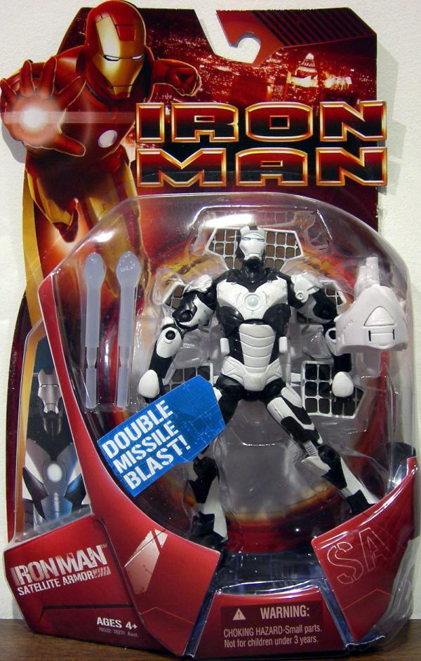 Satellite Armor Iron Man movie, white