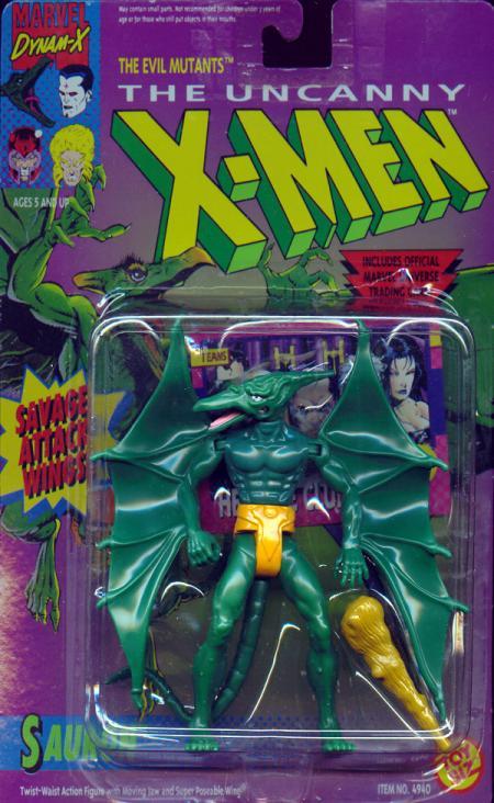 Sauron Figure Savage Attack Wings X-Men Toy Biz