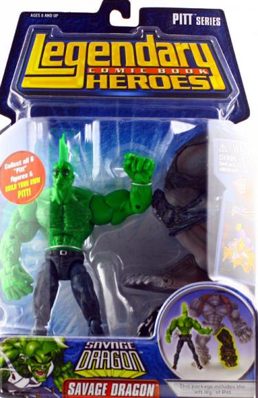 Savage Dragon Legendary Comic Book Heroes, no shirt