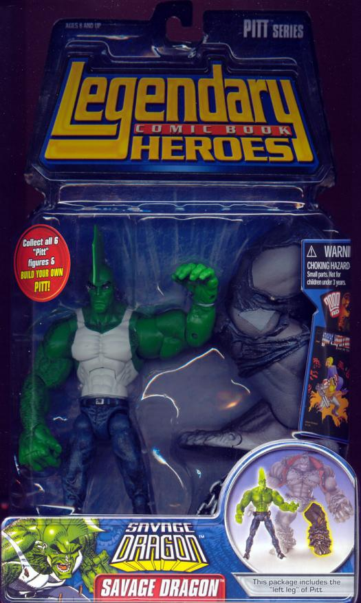 Savage Dragon Legendary Comic Book Heroes, shirt