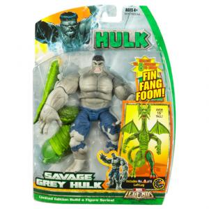 Savage Grey Hulk Marvel Legends Fin Fang Foom series