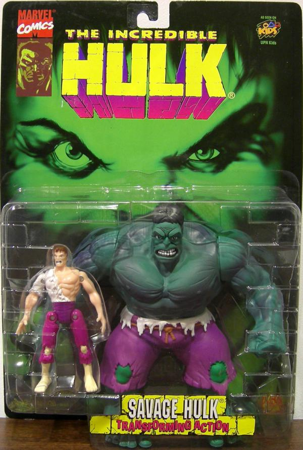 Savage Hulk with Transforming Action Figure Toy Biz