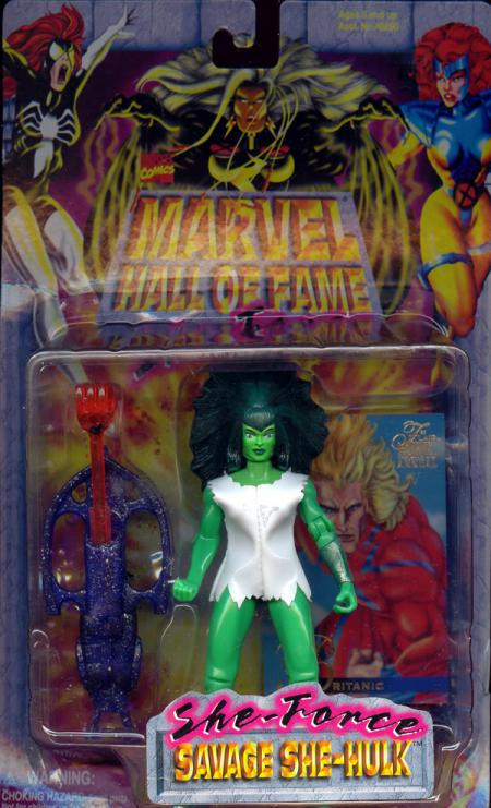 Savage She-Hulk She-Force Marvel Hall Fame action figure