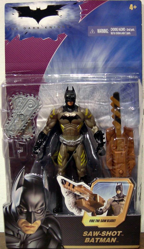 Saw-Shot Batman Dark Knight