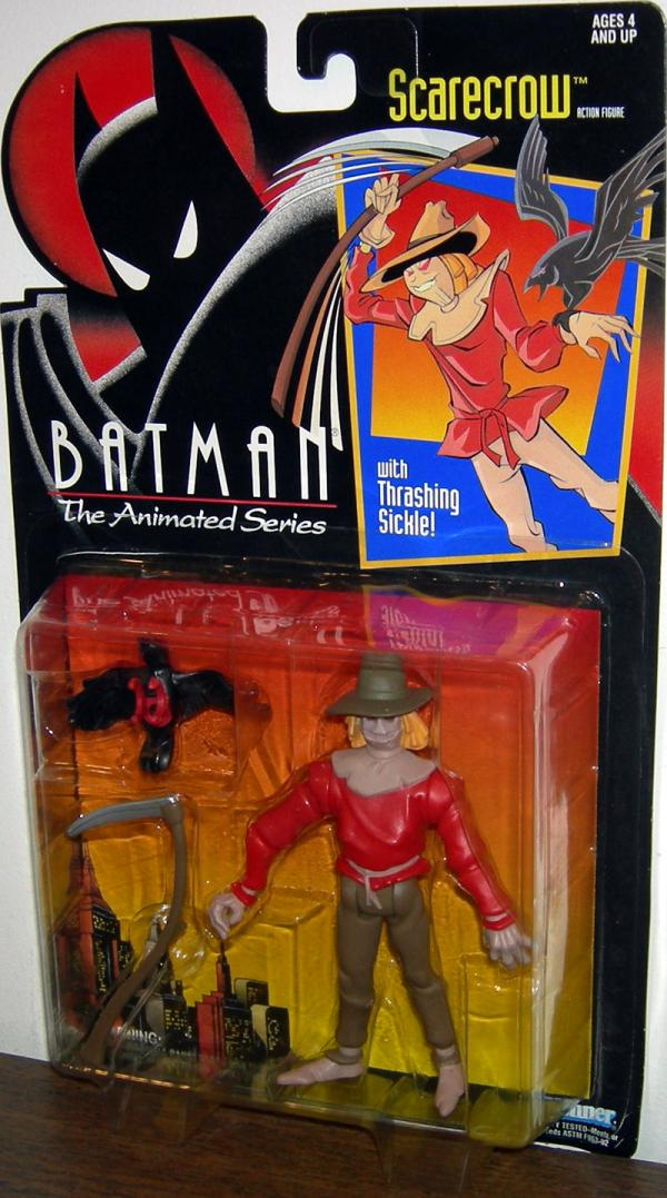 Scarecrow Batman Animated Series action figure