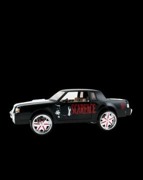 Scarface 1987 Buick Regal 1-18th scale