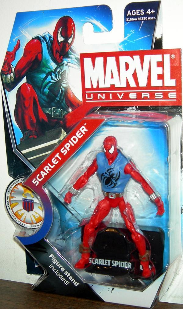 Scarlet Spider Marvel Universe Series 3 014 action figure