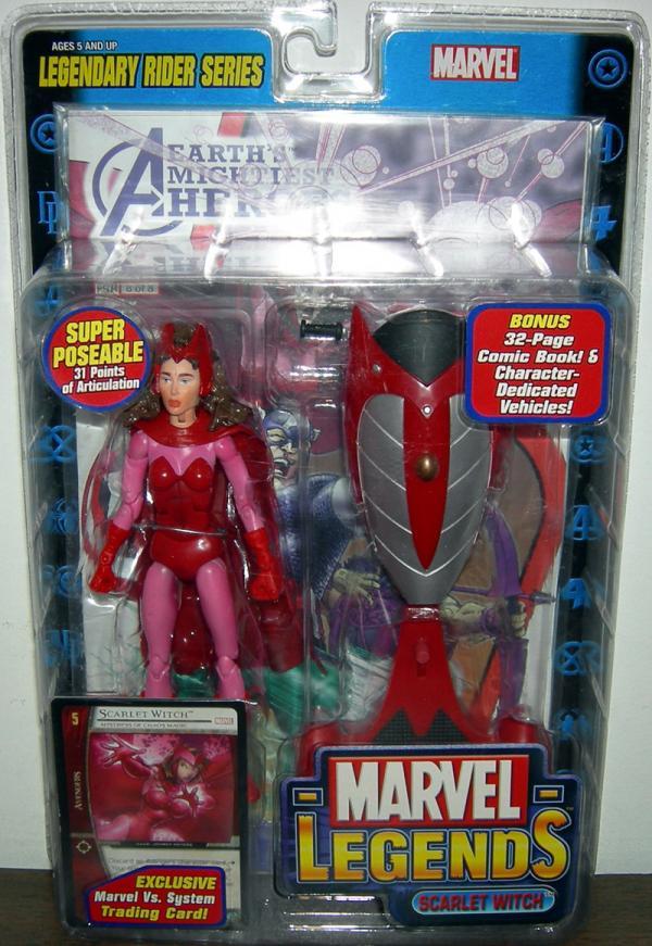 Scarlet Witch Marvel Legends