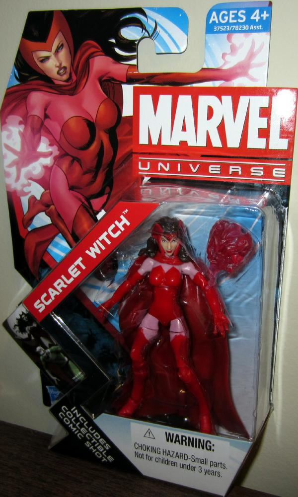 Scarlet Witch Figure Marvel Universe Series 4 016