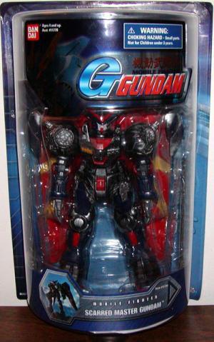 Scarred Master Gundam 7 1-2 inch