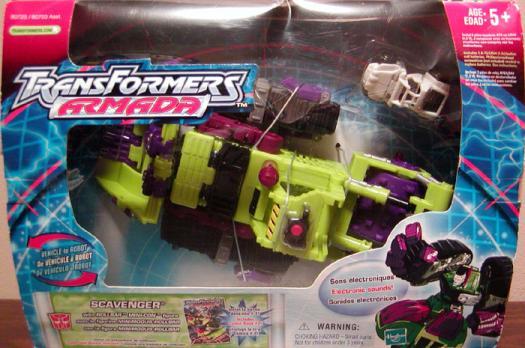 Scavenger Figure Transformers Armada Hasbro