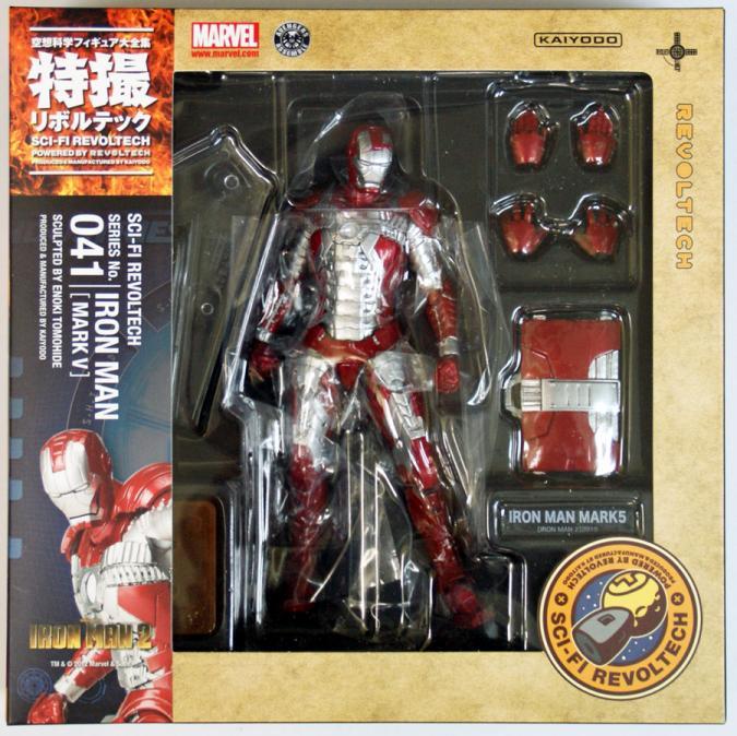 Iron Man Mark V 5 Sci-Fi Revoltech Figure Kaiyodo