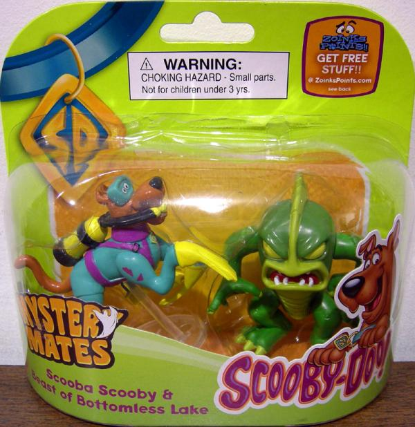 Scooba Scooby Beast Bottomless Lake Mystery Mates