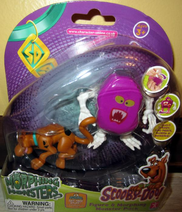 Scooby-Doo Morphing Monster Pack