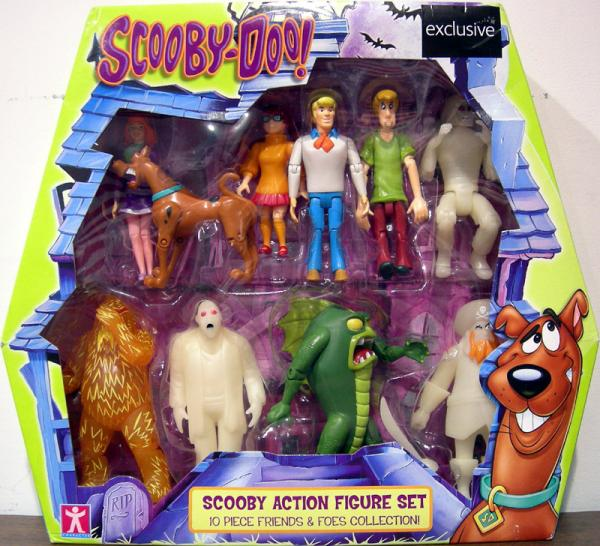 Scooby-Doo Action Figure Set 10-Pack series 2