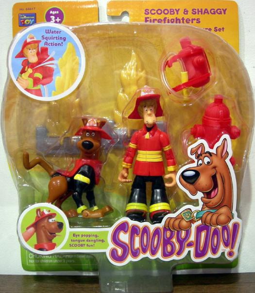 Scooby Shaggy Figures Firefighters