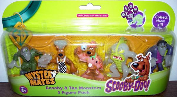 Scooby Monsters 5 Figure Pack Mystery Mates