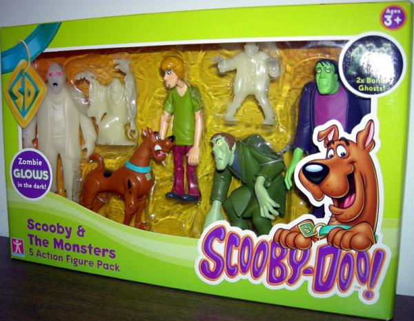 Scooby-Doo Monsters 5 Action Figure Pack Character