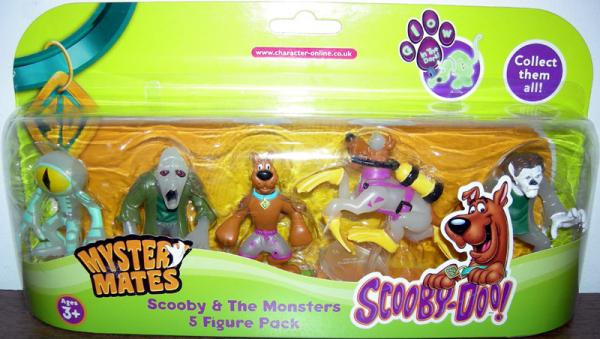 Scooby Monsters 5 Figure Pack Mystery Mates Series 2