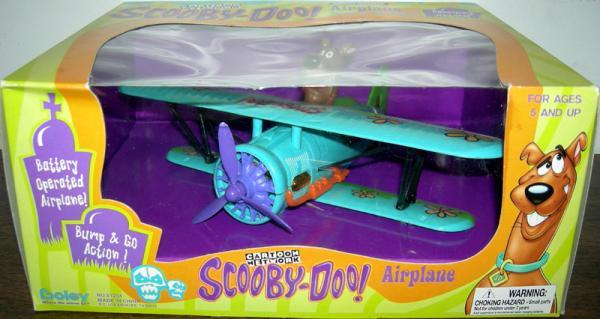Scooby-Doo Airplane Vehicle Boley