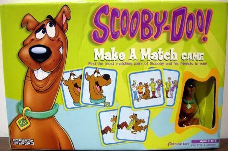 Scooby-Doo Make Match Game