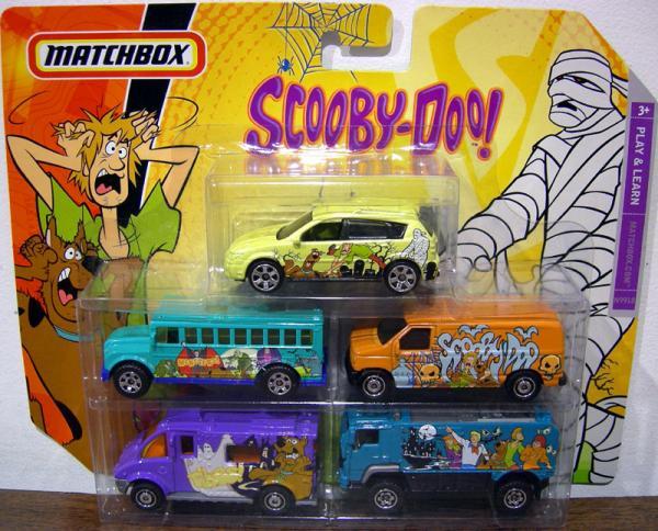 Scooby-Doo Matchbox 5-Pack School Bus Mattel N9918