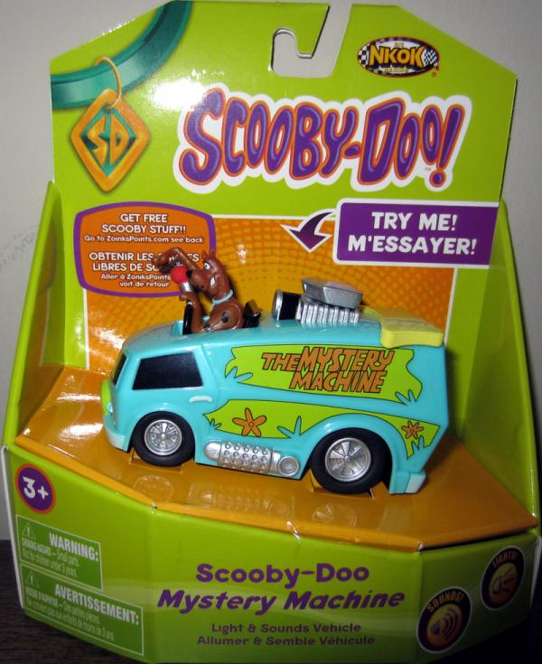 Scooby-Doo Mystery Machine vehicle