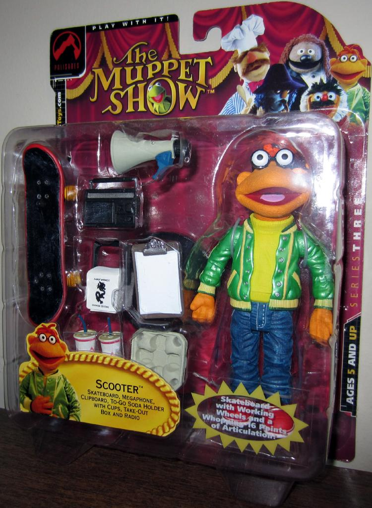 Scooter Action Figure Muppet Show 25 Years Palisades Toys