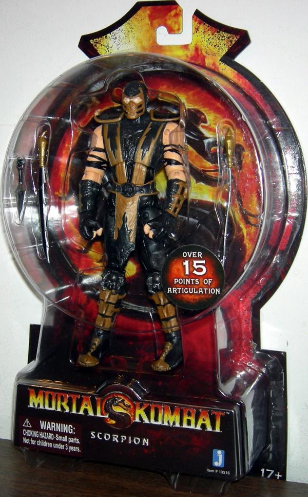 Scorpion Action Figure Mortal Kombat 2011 Jazwares