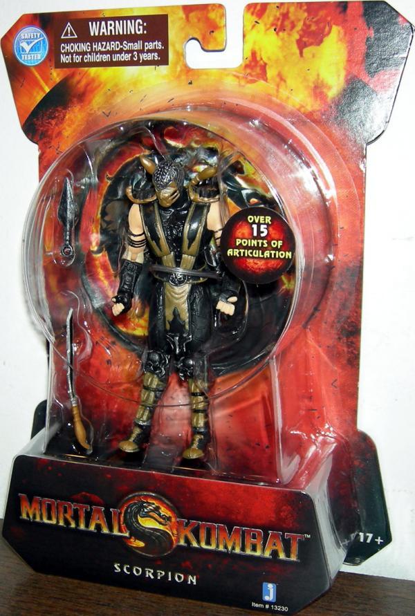 Scorpion Action Figure 2011 Mortal Kombat 4 Inches Jazwares