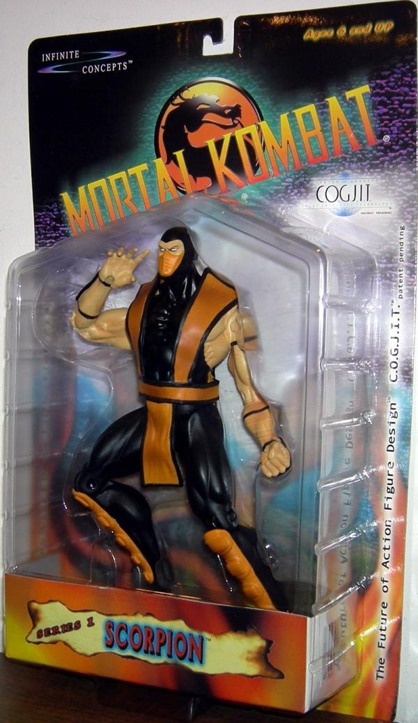 Scorpion COGJIT Figure Mortal Kombat Infinite Concepts