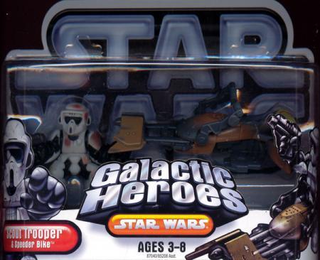 Scout Trooper Speeder Bike Galactic Heroes
