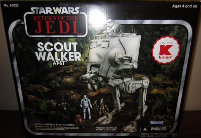 Scout Walker AT-ST Vehicle Kmart Exclusive Star Wars