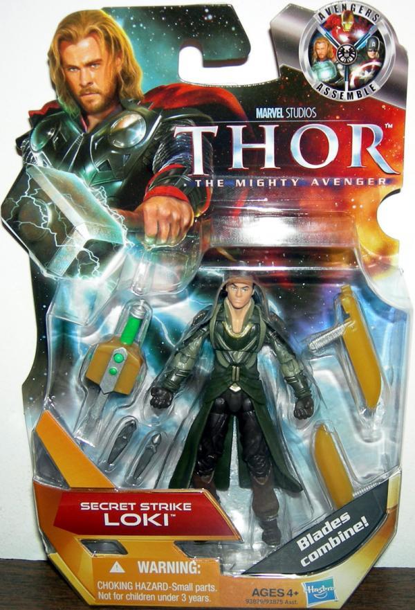 Secret Strike Loki Thor Movie action figure