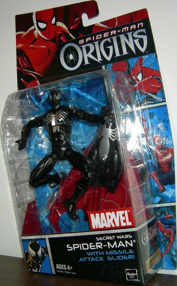 Secret Wars Spider-Man Origins Figure Hasbro