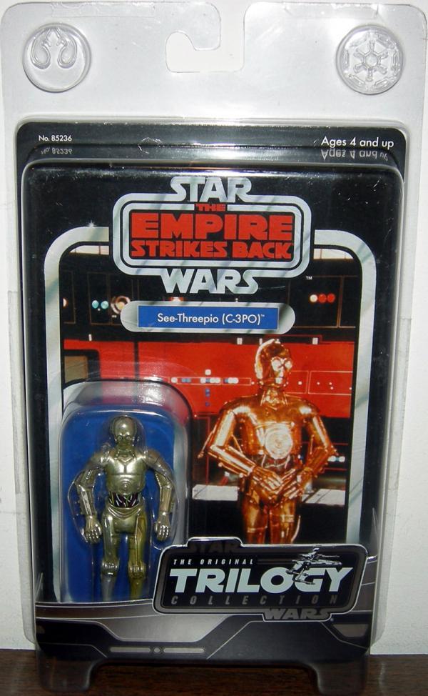 See-Threepio C-3PO Figure Vintage Original Trilogy Collection Star Wars