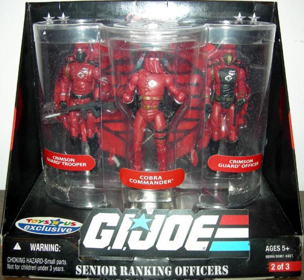 Senior Ranking Officers 3-Pack Crimson Guards
