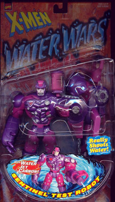 Sentinel Test Robot Figure X-Men Water Wars