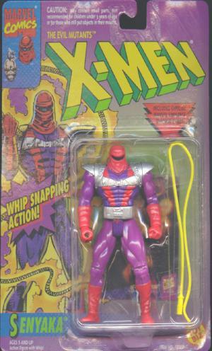 Senyaka Figure Evil Mutants X-Men Toy Biz