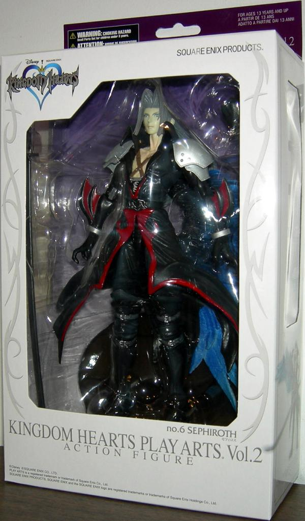 Sephiroth Kingdom Hearts Vol 2 action figure