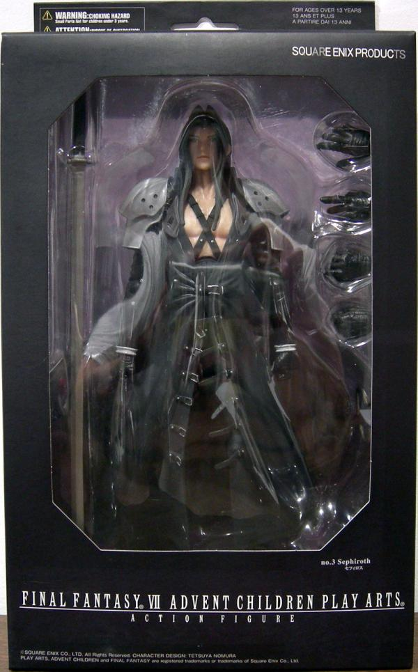 Sephiroth Final Fantasy VII Advent Children Play Arts action figure